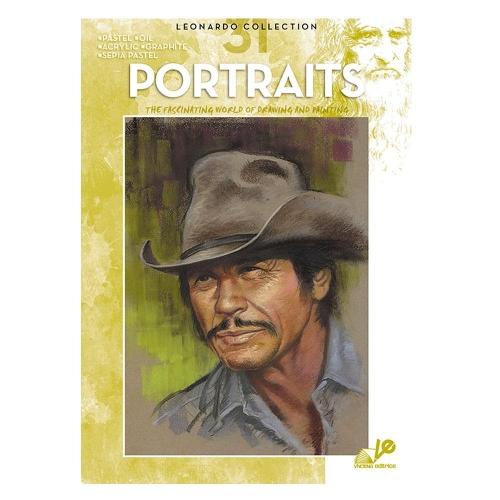 Βιβλίο ζωγραφικής Leonardo 31 portaits