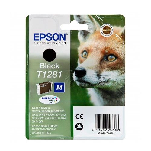 Μελάνι Epson T1281 black