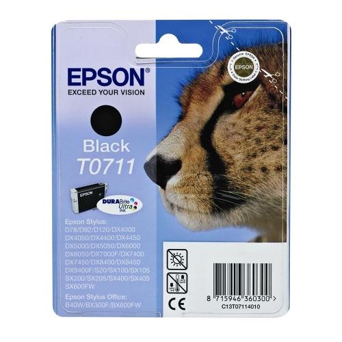 Μελάνι Epson T0711 black