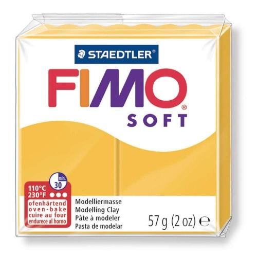 Πηλός Fimo soft 57g Νο16 sun yellow