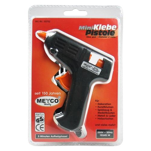 Πιστόλι σιλικόνης Meyco μικρό 7,4 mm 10-60W 65702