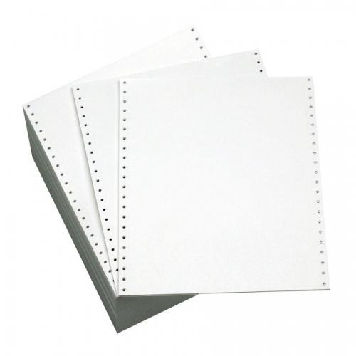 Μηχ.χαρτί 9,5 x11 μονό λευκό 2000φ