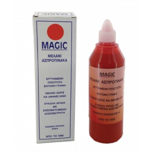Μελάνι μαρκαδ.πίνακα Magic 200ml κόκκινο