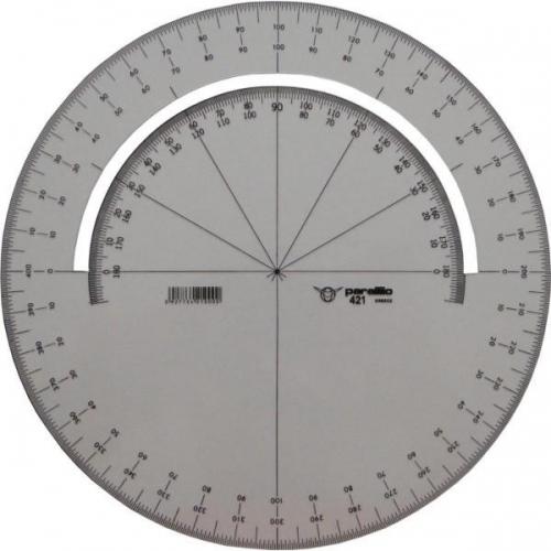 Μοιρογνωμόνιο Parallilo 421 στρογγυλό 360ο