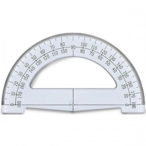 Μοιρογνωμόνιο Ilca 180ο 15 cm