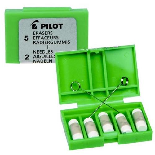 Γόμες Pilot MS-10 σετ 5τεμ+2ακίδες