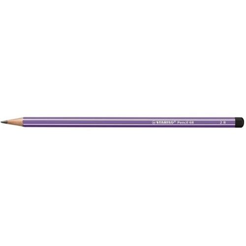 Μολύβι Stabilo pencil 68 λιλά