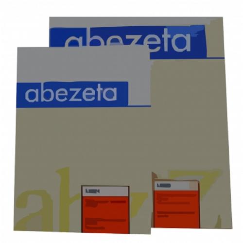 Διαφάνια Α4 Abezeta AS κόκκινη 1τεμ.