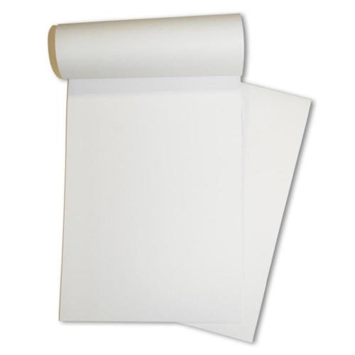 Μπλοκ Α6 λευκό κολλητό 100 φύλλων