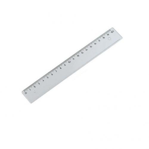Χάρακας πλαστικός Ilca 20 cm
