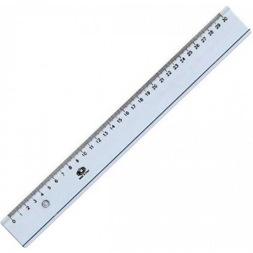 Χάρακας πλαστικός Ilca 30 cm