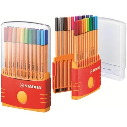 Μαρκαδοράκια Stabilo point 88 20 τεμ colorparade 8820-3
