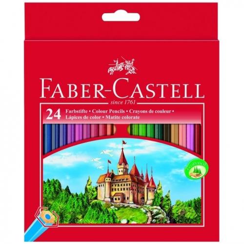 Ξυλομπογιές Faber 111224 κάστρο 24τεμ.