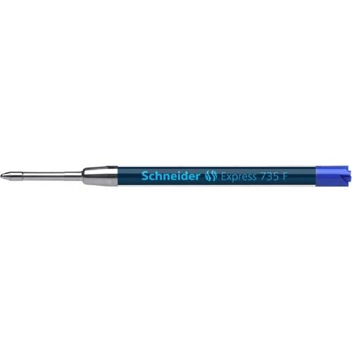 Ανταλλακτικό στυλό Schneider 735 F μπλε τύπου Parker