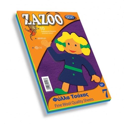 Τσόχα Zazoo 20x30 cm 10 φύλλα Νο7