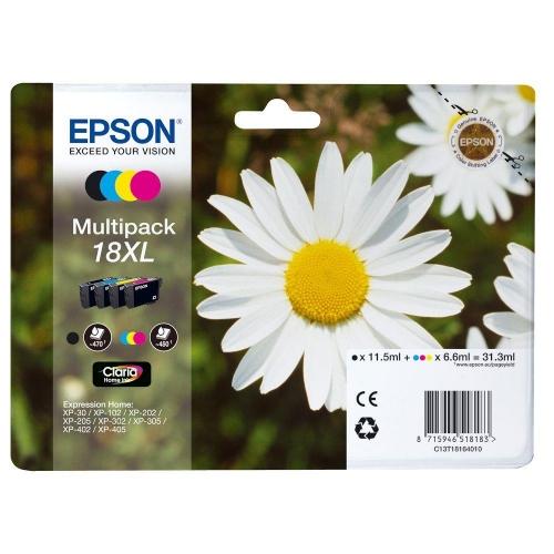 Μελάνια Epson 18XL multipack