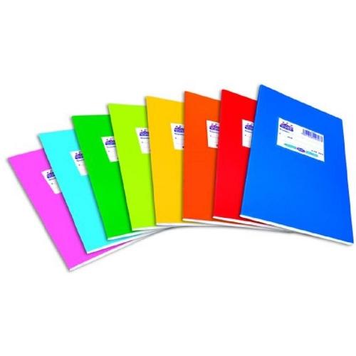 Τετράδιο ευρετήριο Skag 48φ πλαστικό χρωματιστό