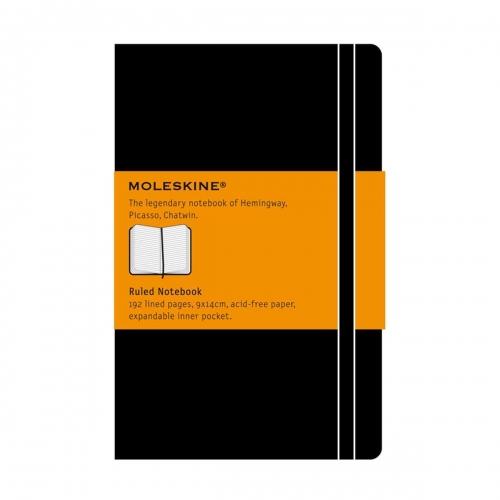 Σημειωματάριο Moleskine pocket black ριγέ