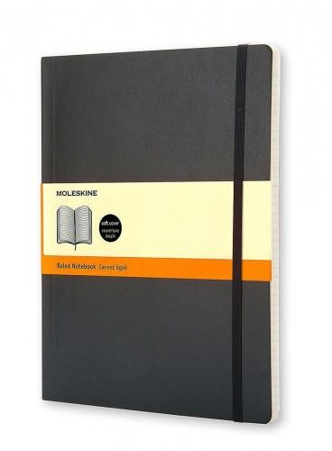 Σημειωματάριο Moleskine XLarge black ριγέ