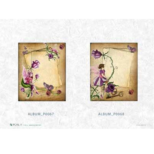 Ριζόχαρτο decoupage Kalit album p0067-68