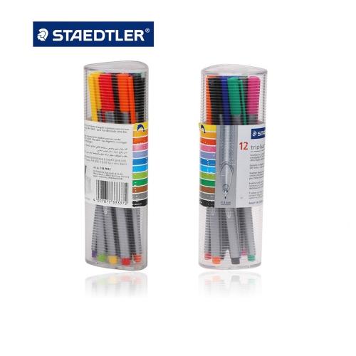 Μαρκαδοράκια Staedtler 334 PR12 σετ 12 τεμ