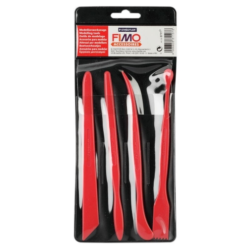Εργαλεία πηλού Fimo 8711 σετ 4 τεμ.