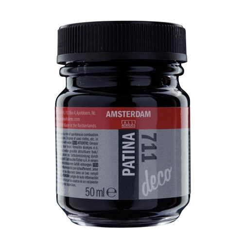 Πατίνα Talens 50 ml antique black 711
