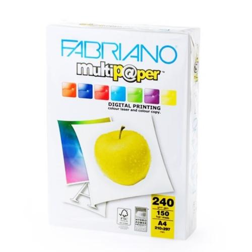 Χαρτονάκι Α4 Fabriano 240gr 150φ λευκό