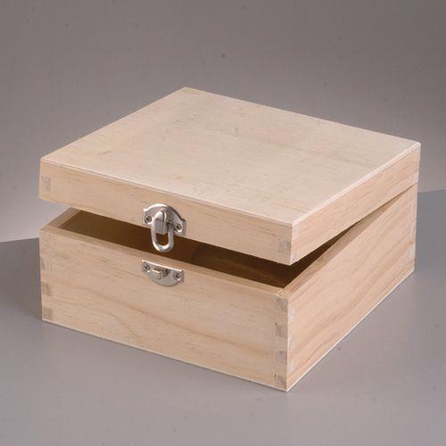 Κουτί ξύλινο Efco 16x16x8 cm