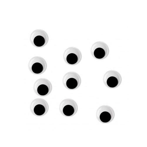 Ματάκια Efco στρογγυλά 10mm 10 τεμ