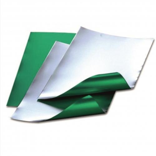 Φύλλο αλουμ. ασημί-πράσ. 30x40 cm 0,15 mm Efco