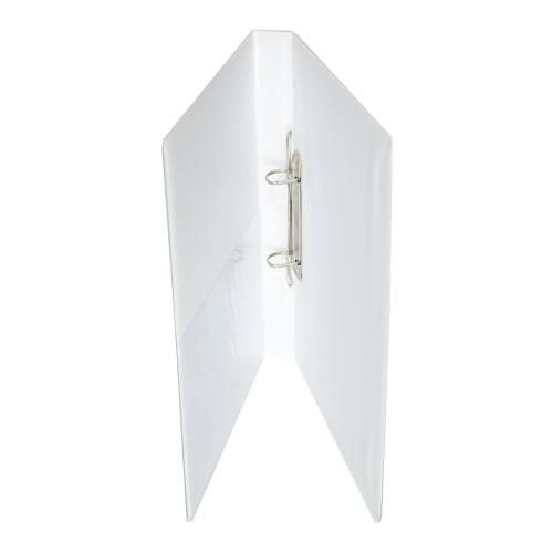 Κλασέρ παρουσίασης λευκό 3 cm 2 κρίκοι D