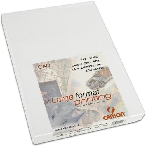 Διαφανές χαρτί Α4 Canson 90-95gr 500φ