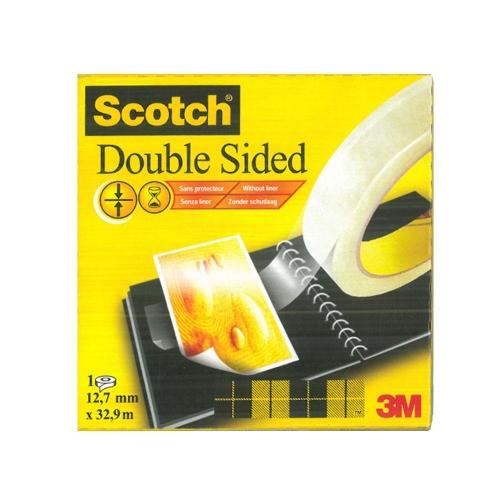 Σελοτέιπ διπλής όψης Scotch 3M 665 12,7mmx32,9m