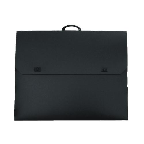 Τσάντα σχεδίου 27x38x4 μαύρη