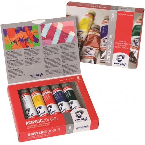 Σετ ακρυλικών Van Gogh 5x40 ml Talens value pack