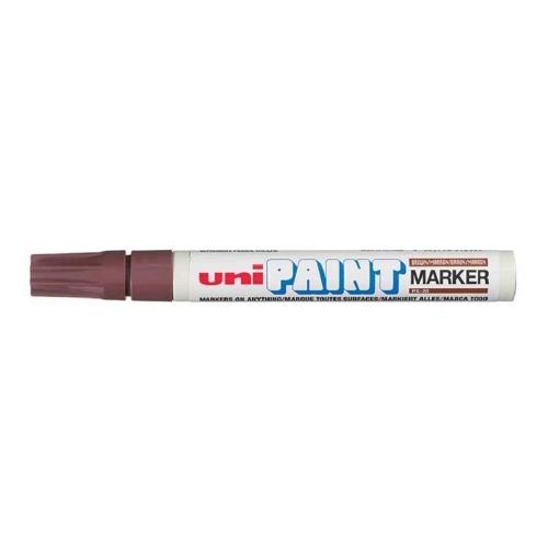 Μαρκαδόρος Uni Paint medium καφέ