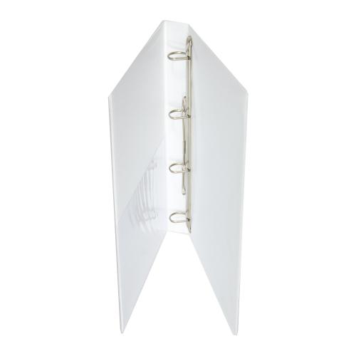 Κλασέρ παρουσίασης λευκό 3 cm 4 κρίκοι D