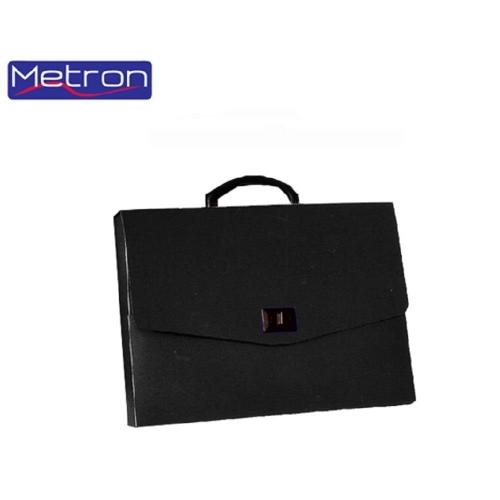 Τσάντα σχεδίου 26x35x5 μαύρη