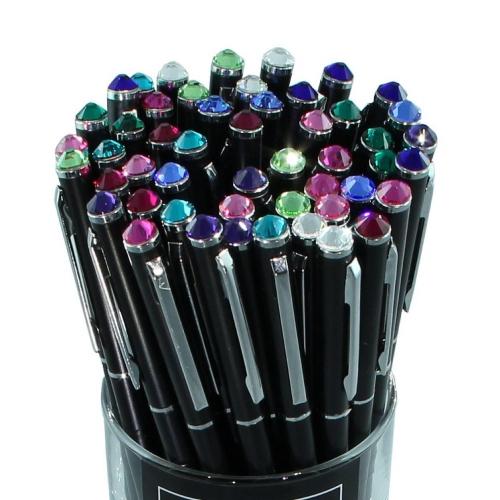 Στυλό Swarovski μαύρο