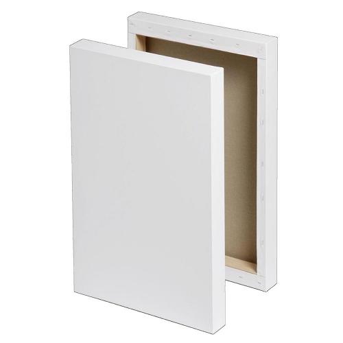 Τελάρο χονδρό box 24x30 cm με βαμβακερό καμβά