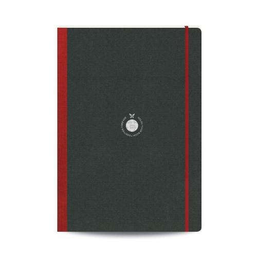 Σημειωματάριο 15x21cm Flexbook κόκκινο 48φ sketchbook