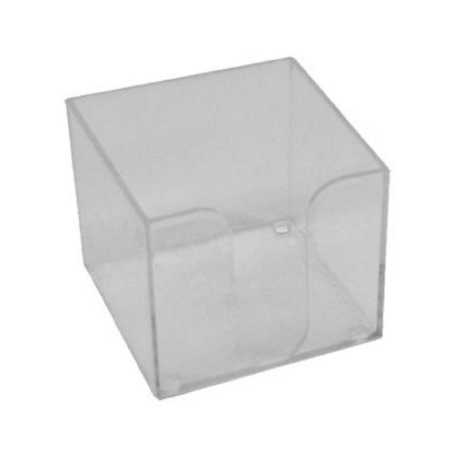 Κύβος Metron πλαστικός κενός διάφανος