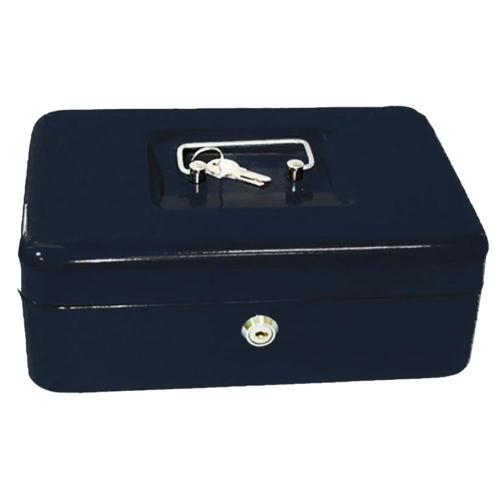 Χρηματοκιβώτιο φορητό ταμείο 30x24x9cm μαύρο