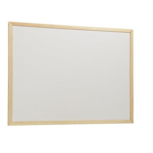 Πίνακας λευκός 40x60 cm ξύλινο πλαίσιο
