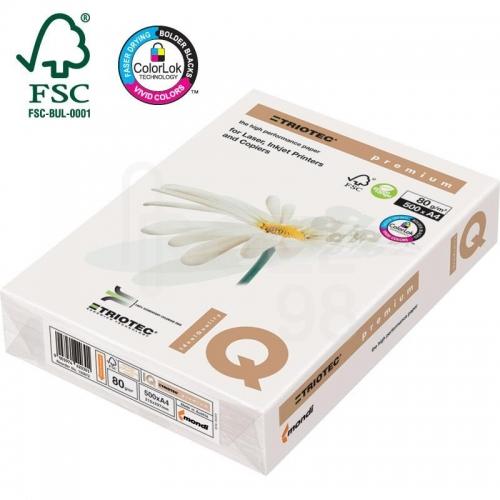 Χαρτονάκι Α4 IQ Premium 200gr 250φ λευκό