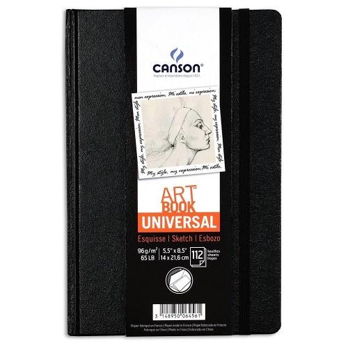 Σημειωματάριο 14x21cm Canson 112φ sketchbook