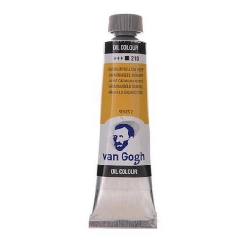 Λάδι Talens Van Gogh 20 ml 210 cadmium yellow deep