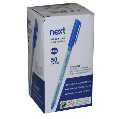 Στυλό Next 30200 μπλε κουτί 50 τεμ.