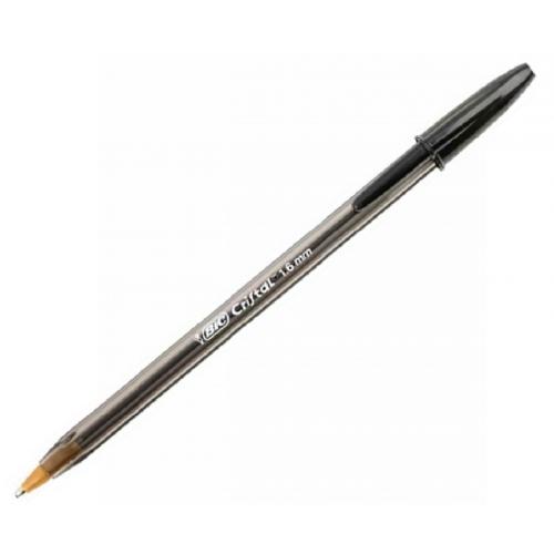 Στυλό Bic Cristal 1,6 large μαύρο